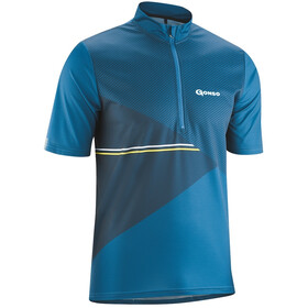 Gonso Ripo Half-Zip SS Bike Shirt Men imperial blue